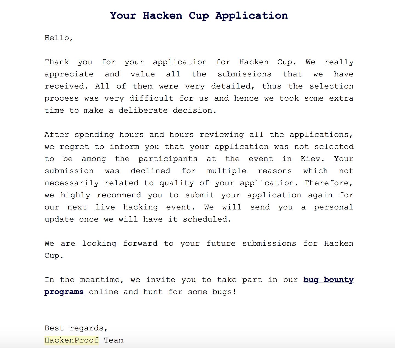 Hacken Review