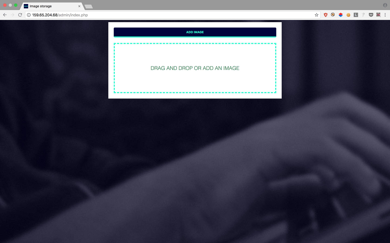 Admin Upload Portal
